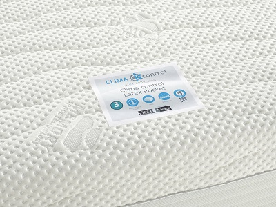 clima control latex ortho mattress review 1